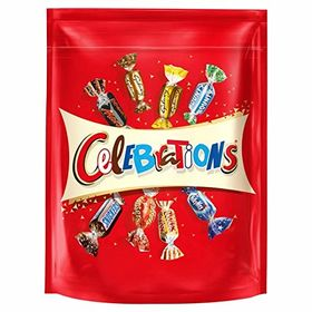 Mars Celebration Assortment of Milk Chocolate Packet, 400g