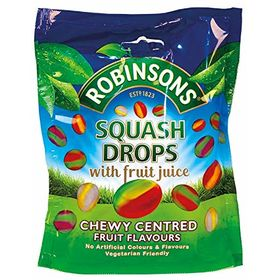 Robinsons Squash Chewy Centered Fruit Flavoured Drops, 150g