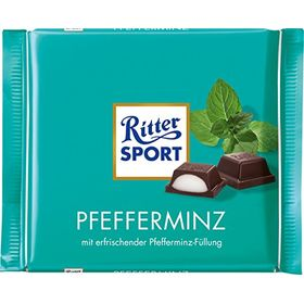Ritter Sport Bar, Peppermint Chocolate - 100 Grams