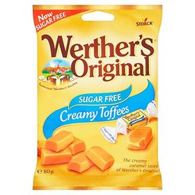 Werthers Sugar-Free Chewy Toffees (80g)
