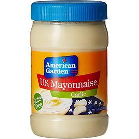 American Garden U.S. Mayonnaise Garlic, 473ml