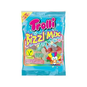 Trolli Bizz Mix Sour Gummy Candy Jelly Shape, 200g