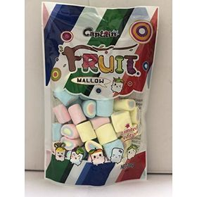 Captain Fruit Marshmallows (Halal) Three Layer, 200g