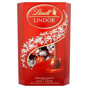 Lindt Lindor Milk Chocolate Truffles with A Smooth Melting Filling (337g)