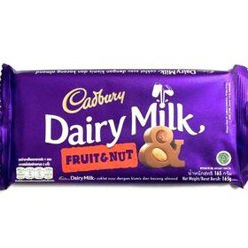 Cadbury Dairy Milk Fruit & Nut Chocolate Bar, 165g