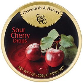 Cavendish & Harvey Drops Sour Cherry, 200g