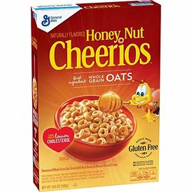General Mills Honey Nut Cheerios Gluten Free Cereal 306g