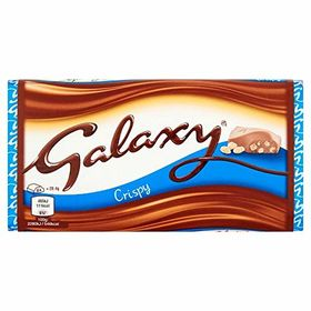 Galaxy Smooth & Creamy Crispy Cereal Milk Chocolate Bar, 102g