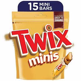 Twix Minis 15 Pcs - 300 Grams