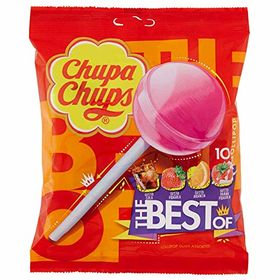 Chupa Chups The Best of Lollipops, 120g