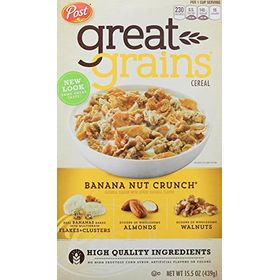 Post Cereal Banana Nut Crunch, 439g