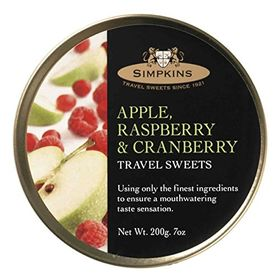 Simpkins Apple, Raspberry and Cranberry, Travel Sweets (200g)