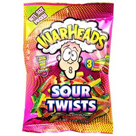 Warheads Sour Twist 3 Flavours Packet, 113g