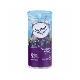 Crystal Light Concord Grape Drink Mix, 57g