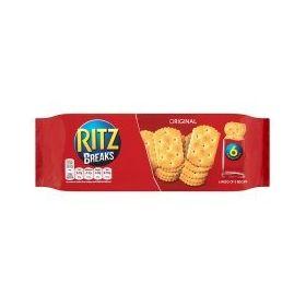 Ritz Breaks Original, 190g 6 Packs of 5 Biscuit