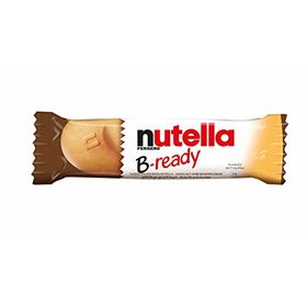 Ferrero Nutella B-Ready Wafer Filled with Nutella Hazelnut Spread (Pack of 3), 22g
