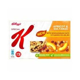 Kellogg's Special K Apricot & Sultanas Snack Bar, (5 X 27g), 135g