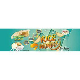 Rice Wonder Gluten Free Rice Crisp Sour Cream & Onion Flavour, 100g