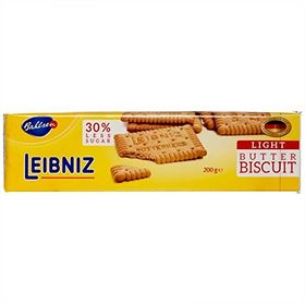 Bahlsen Leibniz Light Butter Biscuit, 200g