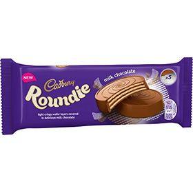 Cadbury Roundie Crispy Wafer Covered With Milk Chocolate, 5 X 30g, 150g