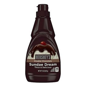 Hershey's Sundae Dream Thick & Delicious Double Chocolate Syrup, 425g