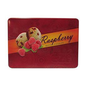 CZA Raspberry Butter Cookies Tin, 400g
