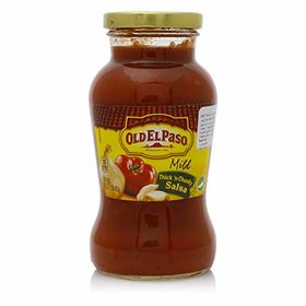 OLD EL PASO SALSA THICK N CHUNKY MILD 453GM