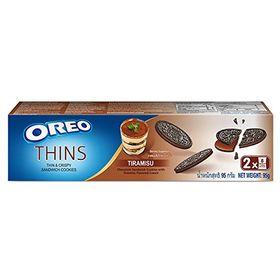 Oreo Thins Tiramisu Sandwich Cookies, 95g