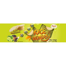 Master Rice, Lime & Black Pepper Flavour, Rice Snacks, 100g