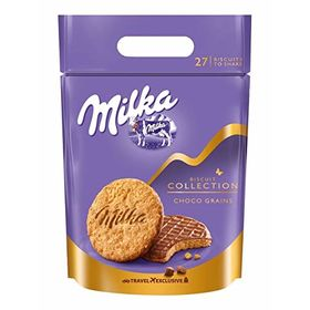 Milka Biscuit Collection Choco Grain Bag , 378g