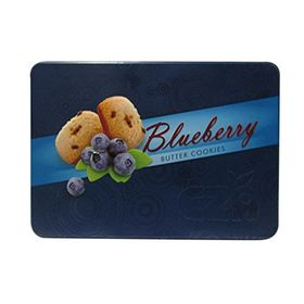 CZA Blueberry Butter Cookies Tin, 400g