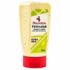 Nando's Perinaise Extra Mild Lemon & Herb Mayonnaise, 265g