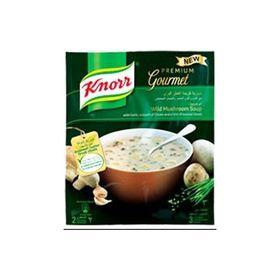 Knorr Premium Gourmet Cream of Wild Mushroom Soup 54g-Imported