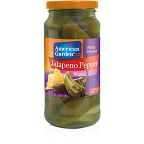American Garden Jalapeno Peppers Whole, 453g