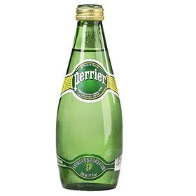 Perrier Sparkling Natural Mineral Rich Water - 330 ML