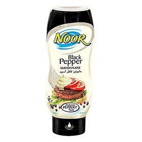 Noor Black Pepper Mayonnaise 295ml