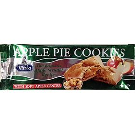 Merba Apple Pie Cookies with Soft Apple Center, 200g