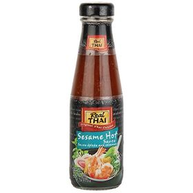 Real Thai Sesame Hot Sauce, 200ml