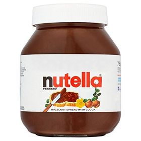 Nutella Chocolate Hazelnut Cocoa Spread, 750 gm (Pack of 2)