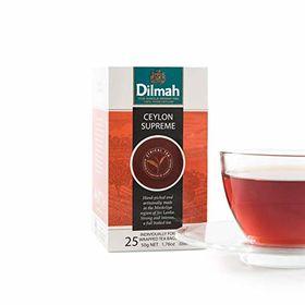 Dilmah 100% Pure Ceylon Supreme Tea, 50g