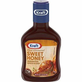 Kraft Sweet Honey Barbecue Sauce, 510g