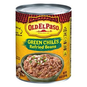 Old El Paso Green Chiles Refried Beans, 453g