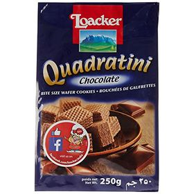 Loacker Quadratini Chocolate, 250g