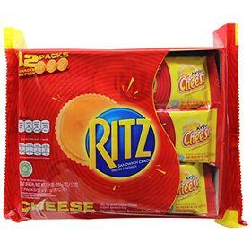 Ritz Sandwich Cracker Cheese (12 X 27g), 324g