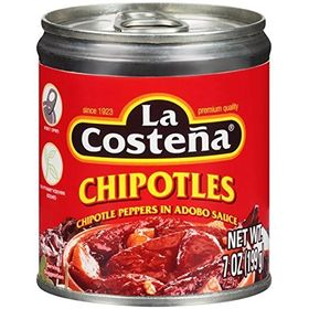 La Costena Chipotle Peppers in Adobo Sauce, 199g