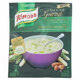 Knorr Premium Gourmet White and Green Asparagus Soup 40g