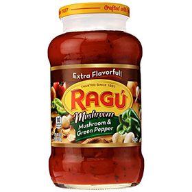 Ragu Mushroom and Green Pepper Pasta Sauce, 680g