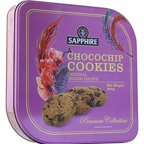 Sapphire Choco Chip Cookies Premium Collection, 500 g