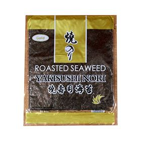Yakisushi Nori Roasted Seaweed Gold, 10 Sheets (28g)