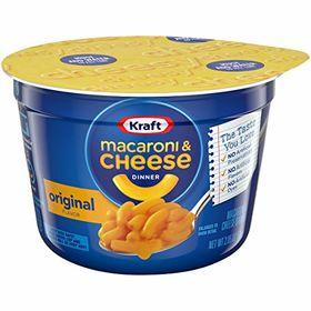 Kraft Macaroni & Cheese Dinner Original Cheese 58g